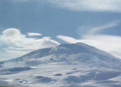 Shackelton Expedition - Mount Erebus