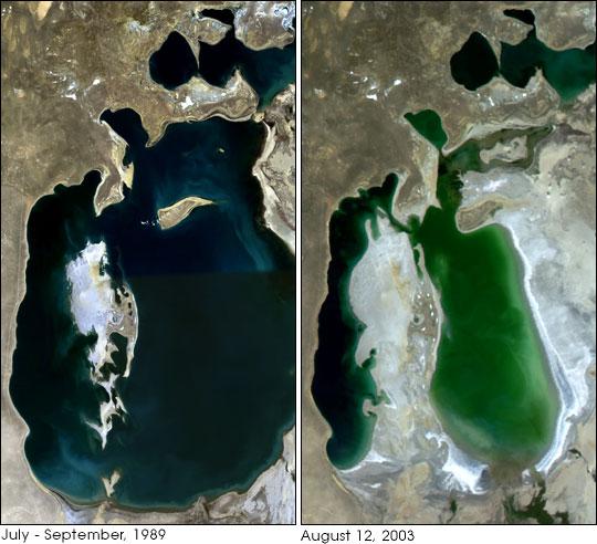 Aralsee Entwicklung
